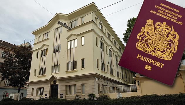 Die britische Botschaft in Wien schlägt Alarm: UK-Pässe sind bei uns begehrte Diebesbeute. (Bild: Thinkstockphotos.com, Martin A. Jöchl)