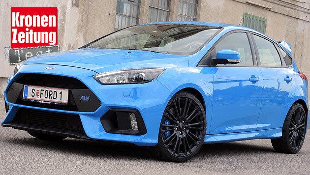 Ford Focus RS: Kein Vergleich (Bild: Stephan Sch�tzl)