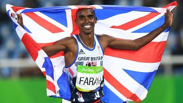 Langstrecken-Double für Farah - Felix holt 6. Gold (Bild: AFP)