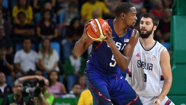 USA holt zum dritten Mal in Serie Basketball-Gold! (Bild: AFP or licensors)