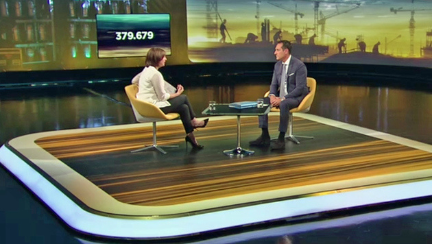 """""""Obergrenze ist größter Schmäh, den wir erleben"""" (Bild: ORF)"""