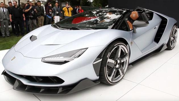 Lamborghini Centenario Roadster: 350 km/h f�r 20 (Bild: Lamborghini)