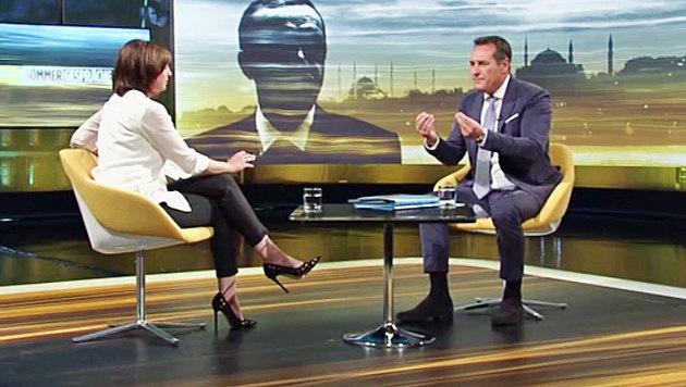 """""""Obergrenze ist gr��ter Schm�h, den wir erleben"""" (Bild: ORF)"""