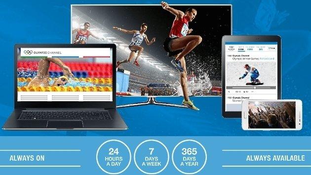 Olympischer TV-Sender für PC und Handy gestartet (Bild: olympicchannelservices.com)