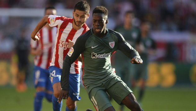 Inaki Williams (rechts) (Bild: AFP)