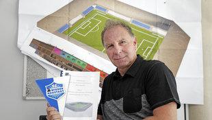 SC Wr. Neustadt pr�sentiert hei�es Stadionprojekt! (Bild: Reinhard Holl)