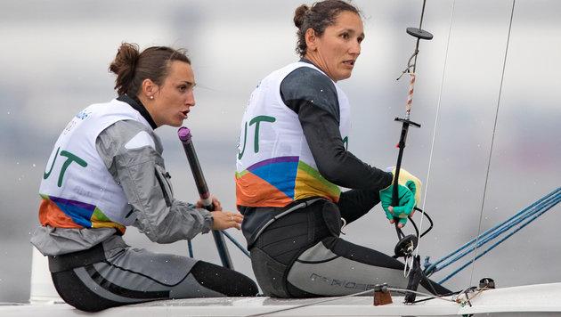 Lara Vadlau (links) mit Jolanta Ogar (Bild: APA/EXPA/JOHANN GRODER)