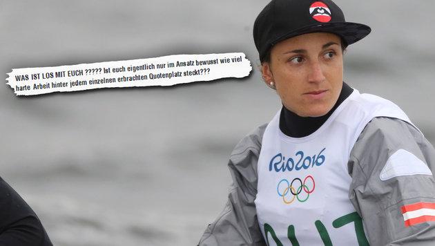 """Was ist los mit euch?"" Vadlaus Olympia-Abrechnung (Bild: facebook.com, GEPA)"