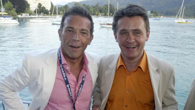 Jörg Haider und Peter Westenthaler (Bild: Martin Jöchl)