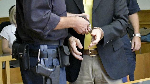 Strafe abgemildert: Acht Monate Haft für Hochegger (Bild: APA/HERBERT NEUBAUER)