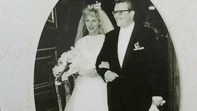 Heute wie damals: Felix Dvorak und Ehefrau Elisabeth sind glücklich und verliebt. (Bild: Alexander TUMA)