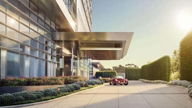 Mercedes, Rolls-Royce, Cadillac oder Bentley können jederzeit von den Bewohnern gemietet werden. (Bild: Facebook.com/livetenthousand)