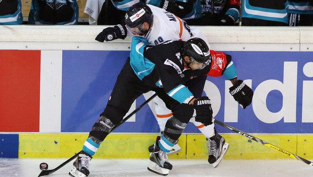 Black Wings Linz verloren in CHL trotz 3:0-Führung (Bild: GEPA)