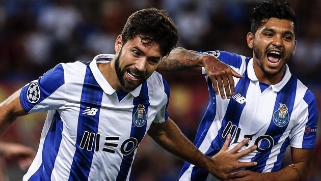 FC Porto nach 3:0 in Rom in Champions League (Bild: AP)
