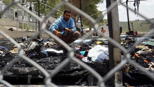 Griechenland: Tausende Migranten untergetaucht (Bild: APA/AFP/STR)