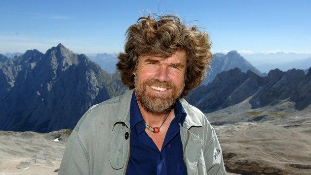 Bergsteigerlegende Reinhold Messner (Bild: dpa/Peter Kneffel)