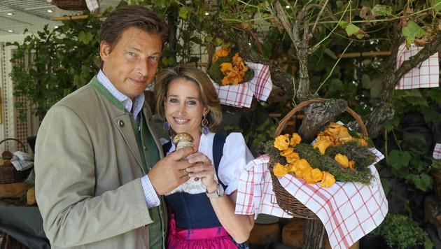 Die herzlichen Gastgeber: Alexandra Winkler und ihr Matthias (Bild: Neumayr)
