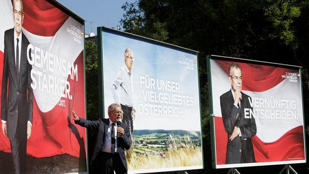"""BP-Wahl: Van der Bellen ist """"mehr denn je bereit"""" (Bild: APA/GEORG HOCHMUTH)"""