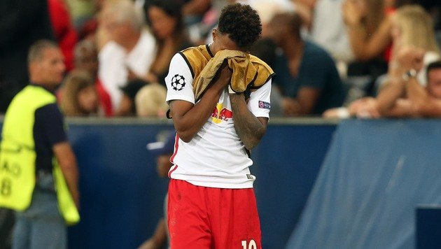 RB Salzburg schafft es zum 9. Mal NICHT in die CL! (Bild: APA/KRUGFOTO)