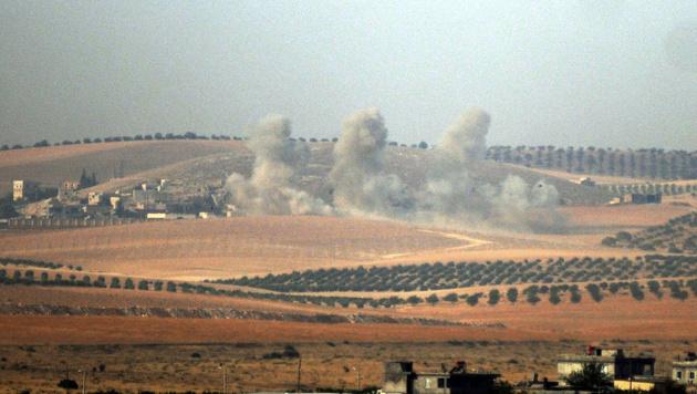 """Erdogan: """"Haben IS-Bastion zurückerobert"""" (Bild: AP)"""