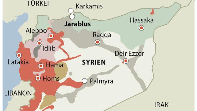 Türkei beschießt Kurden-Stellungen in Syrien (Bild: APA)