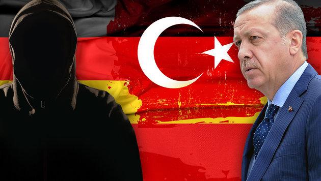 6000 Spitzel spionieren für Sultan Erdogan (Bild: thinkstockphotos.de, AP/Alik Keplicz)