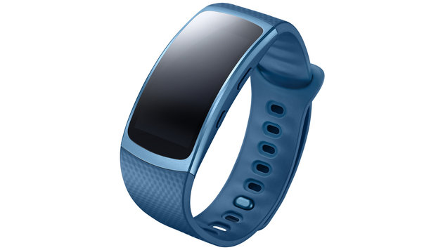 Samsung Gear Fit 2: Fitnessband mit OLED-Display (Bild: Samsung)