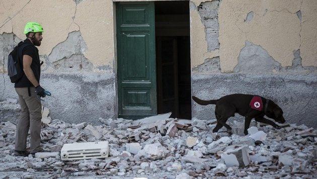 """Opfer: """"Zehn Sekunden haben hier alles zerstört"""" (Bild: EPA)"""