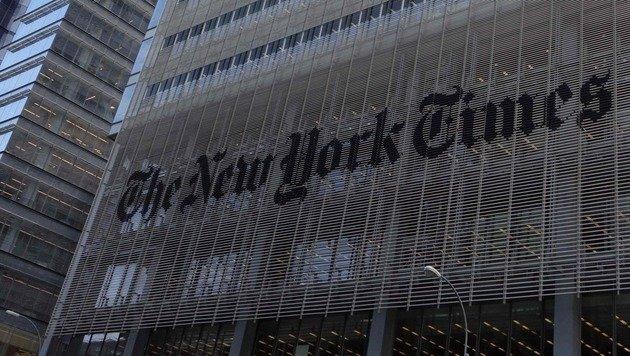 """New York Times"" bestellt neuen Vize-Herausgeber (Bild: AFP)"