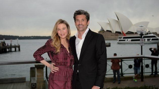 Renee Zellweger und Patrick Dempsey in Sydney (Bild: EPA)