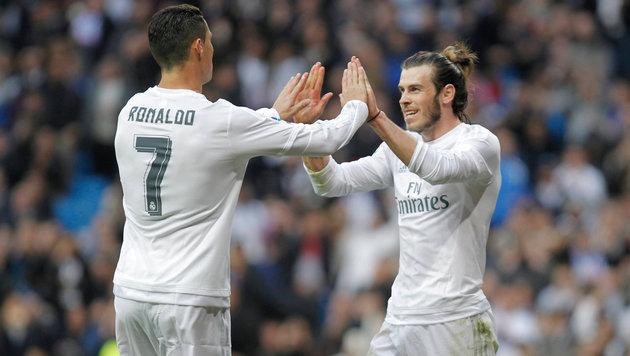 Real-Stars Ronaldo & Bale vor Vertragsverlängerung (Bild: GEPA)