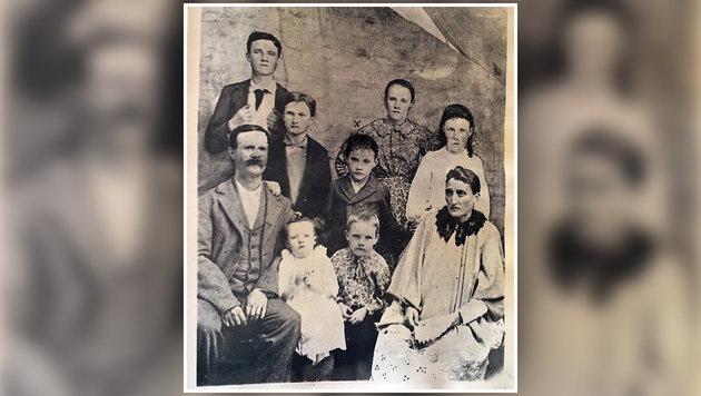 Gerhards Urgroßvater (l.) war irischer Einwanderer, seine Frau (r.) amerikanische Ureinwohnerin. (Bild: Gerhard Schützenhofer)