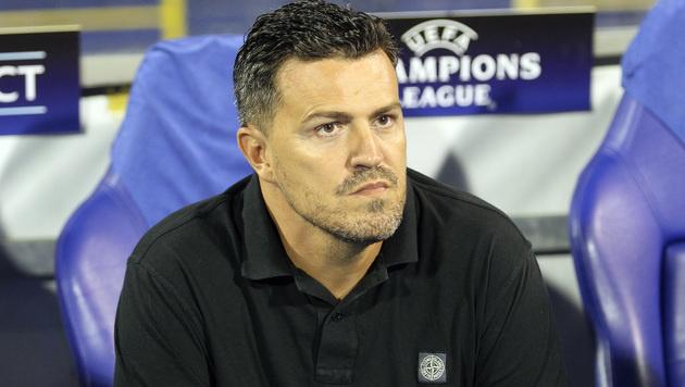 Bleibt Oscar Garcia Salzburg-Trainer? (Bild: GEPA)