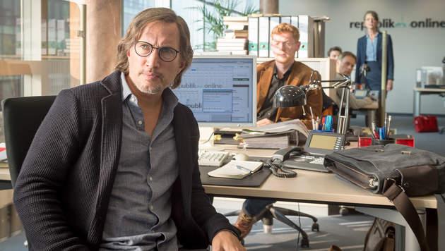 """""""Die vierte Gewalt"""": Thriller mit Benno Führmann (Bild: NDR/Marc Meyerbröker')"""