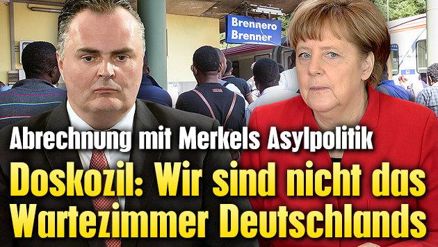 Doskozil: Sind nicht das Wartezimmer Deutschlands (Bild: APA/EXPA/JOHANN GRODER, AP)