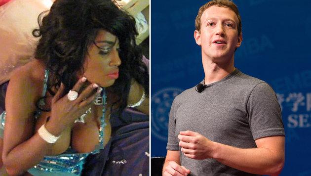 Ex-Pornostar klagt Zuckerberg auf eine Milliarde (Bild: myspace.com, facebook.com)