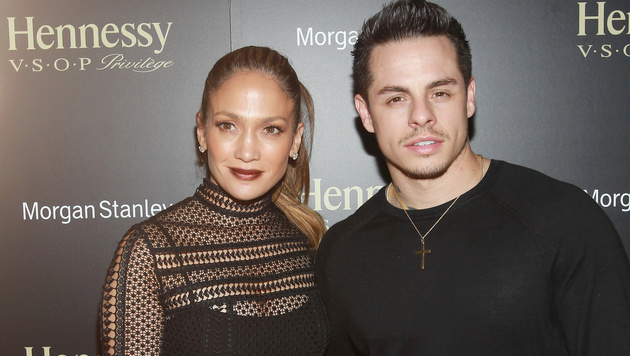 Jennifer Lopez und Casper Smart (Bild: Invision for Hennessy V.S.O.P Privilege)