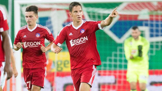 Rapid: Mit blauem Auge in die Europa League (Bild: APA/GEORG HOCHMUTH)