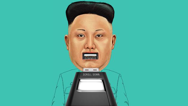 Schmuggel-Sticks sollen Nordkoreas Regime stürzen (Bild: flashdrivesforfreedom.org)