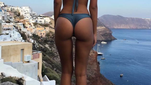Welcher Beauty gehört dieser sexy Knackpo? (Bild: Viennareport)