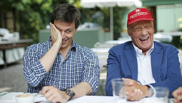 Toto Wolff und Niki Lauda (Bild: Reinhard Holl)