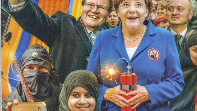 IS, Fl�chtlinge: Harte Bandagen f�r Merkel in Prag (Bild: Reflex, Prag / JAN KRUPKA)