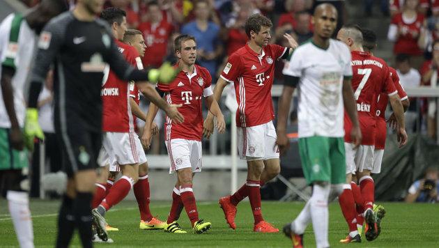 Gala zum Auftakt! Bayern überrollt hilflose Bremer (Bild: AP)