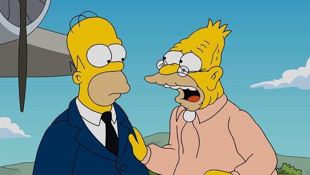 """Homer Simpson und """"Grampa"""" (Bild: Fox)"""