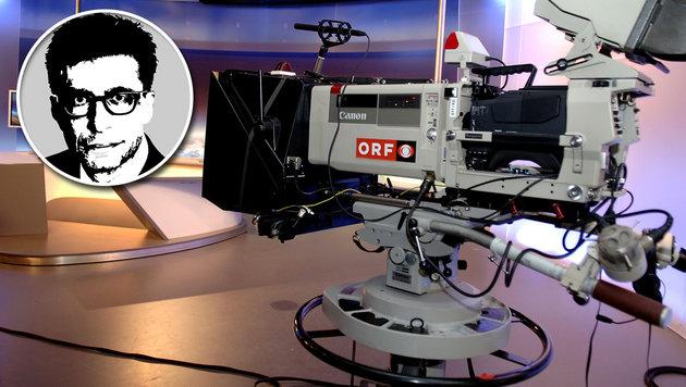 Die Politik und der ORF: Eine teure Affäre (Bild: APA/BARBARA GINDL)