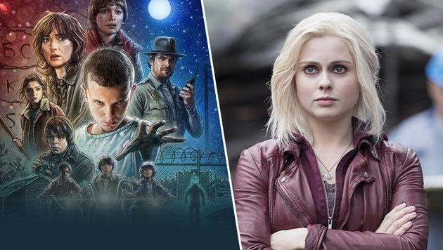 Die besten neuen Serien für den Herbstbeginn (Bild: Netflix, The CW)