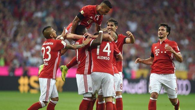Gala zum Auftakt! Bayern überrollt hilflose Bremer (Bild: AFP)