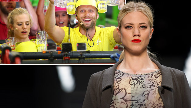 Larissa Marolt: Unfall bei TV-Dreh! (Bild: RTL/Stefan Gregorowius, APA/dpa)