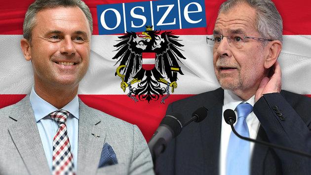 OSZE prüft Einsatz von Wahlbeobachtern (Bild: APA/HELMUT FOHRINGER, thinkstockphotos.de)