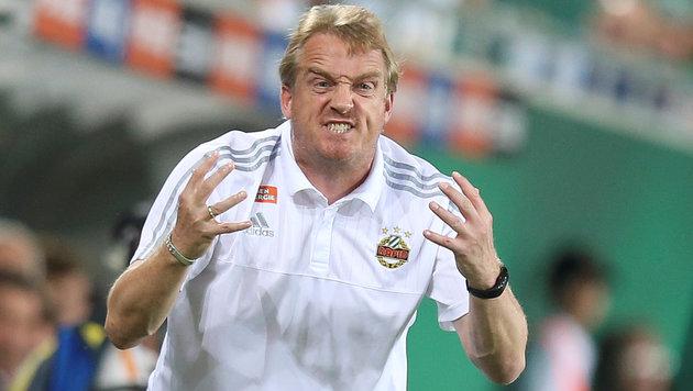 Rapid-Coach Mike Büskens (Bild: GEPA)